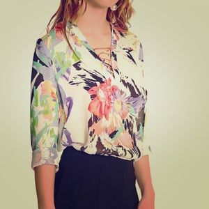 Marciano floral print blouse